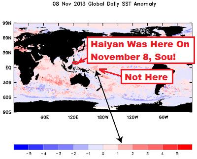 SSTanom8nov w-Haiyan Location on Nov 8