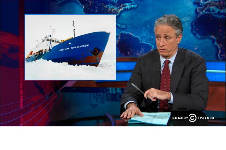 Lavish Boat - The Daily Show