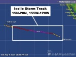 Iselle Storm Track