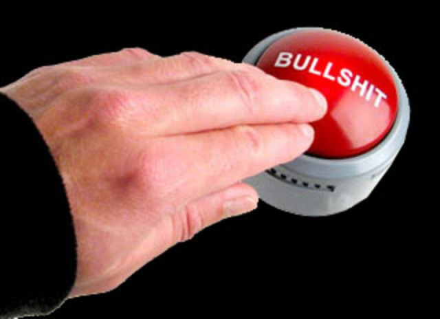 Pielke Handy Bullshit Button